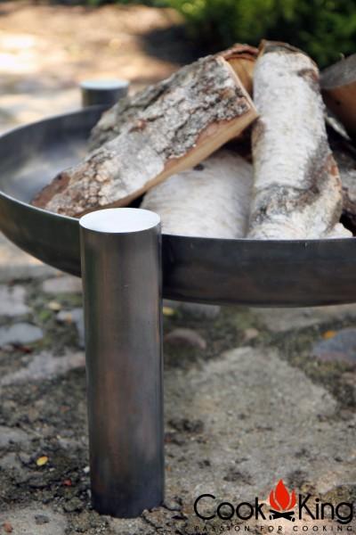 Feuerschale Palma mit Holz