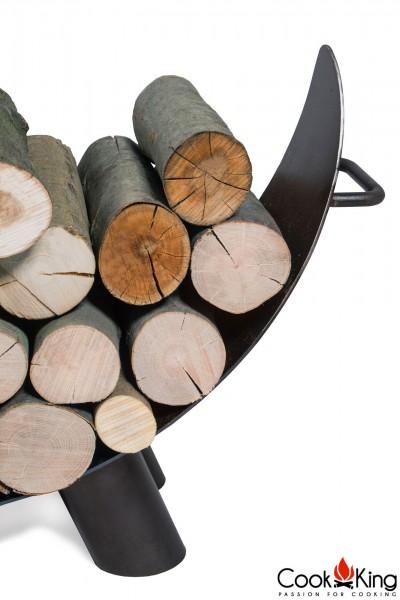 Frontansicht der Holzablage Mila